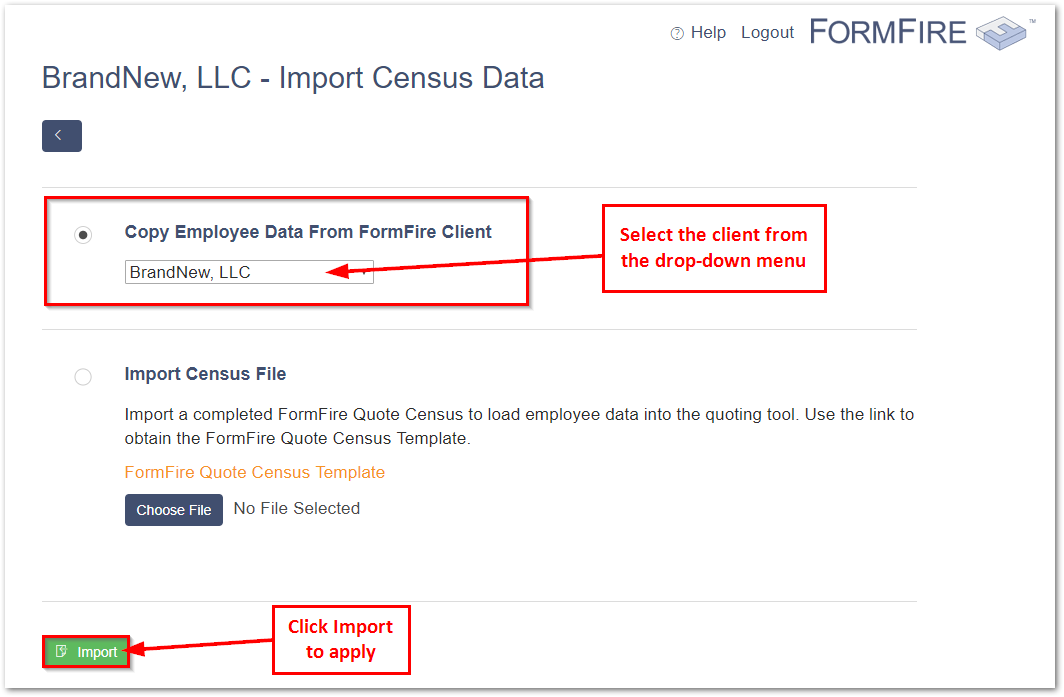How to add employees into formfire quote formfire help we suggest copying the employee information first then making manual changes or additions afterwards maxwellsz