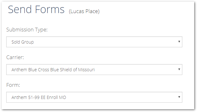How to submit forms to Anthem Blue Cross Blue Shield of Missouri for
